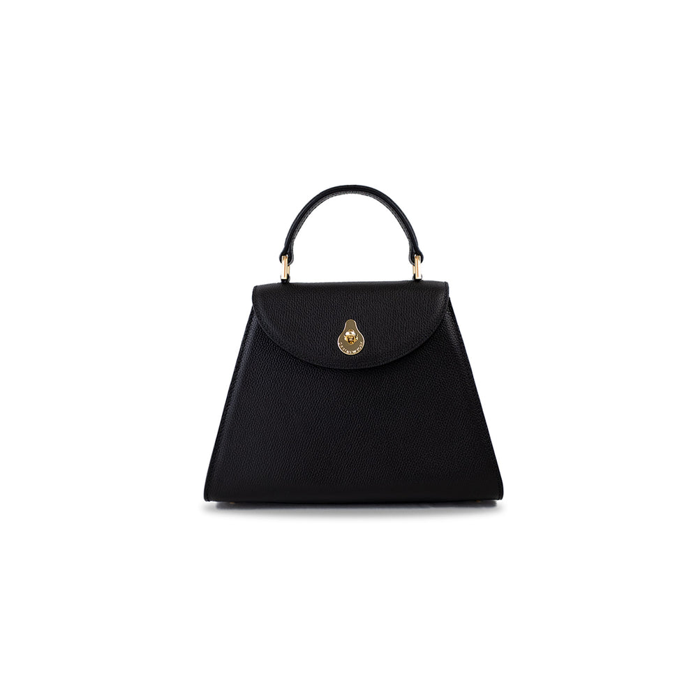 SMALL CALLA SATCHEL - BLACK