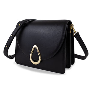 DAHLIA CROSSBODY - BLACK