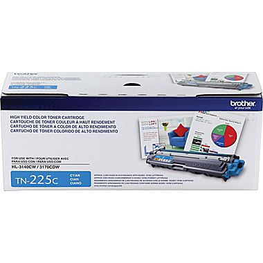 Cartouche de toner Brother TN225 CYAN (2200 pages)