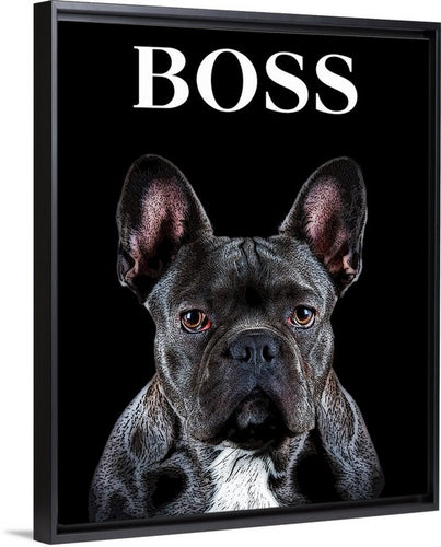 Limited Edition BOSS Solid-Faced Canvas Wrap (incl. Frame)
