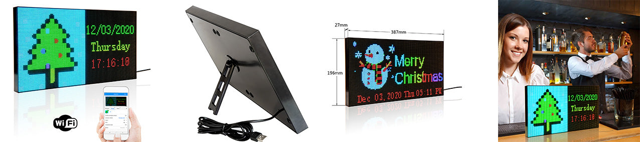 portable led sign board