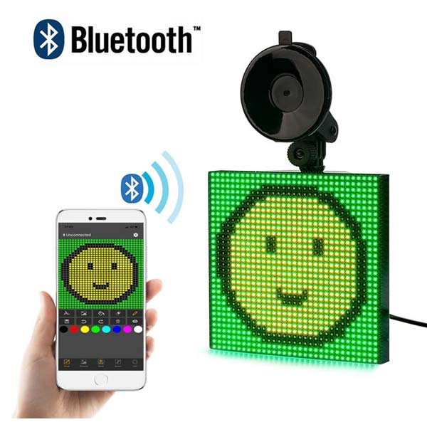 bluetooth programming led car sign