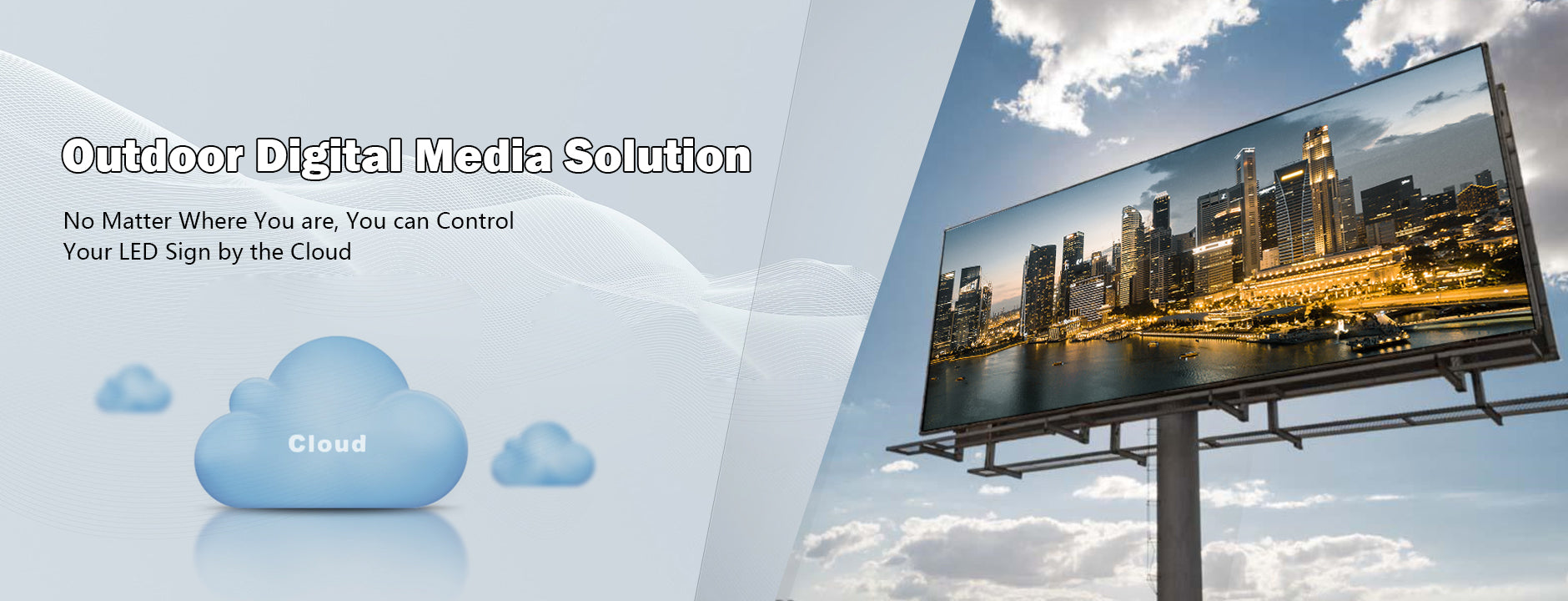 cloud led display