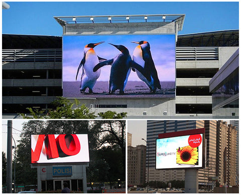 led sign free videos