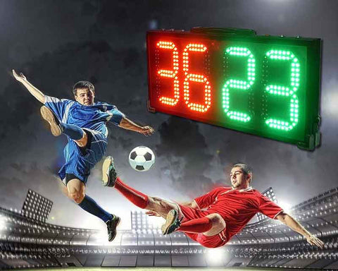 Led Scoreboards Multisport Rechargeable Waterproof Super Brightness