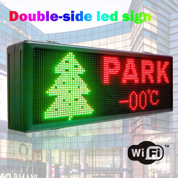 double sided led panels