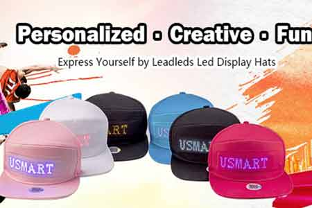 bluetooth led hat