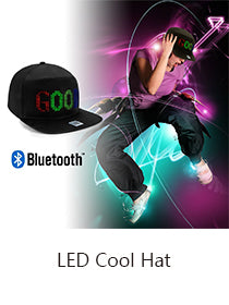 led display hat