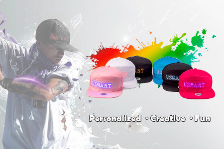 led sign hats
