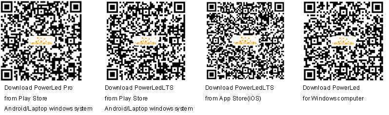 Google play App store download the software Powerled