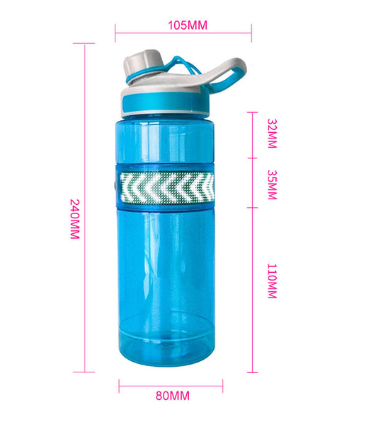 Outdoor Portable Water Bottle with Bluetooth Rechargeable LED Display Promotional Gift Water Bottle Advertising LED Screen
