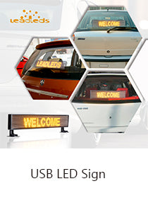 usb led signs