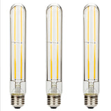 "Leadleds 6W Edison Bulb Vintage 7.2"" Long Tubular Night Light Bulb Dimmable 3000K Neat Warm White - Leadleds"