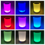 Leadleds RGB Lighting Wireless Bluetooth Speaker Hands-free Call LED Light Lamp With Music Beat, Portable Bluetooth Speaker Lighting - Leadleds