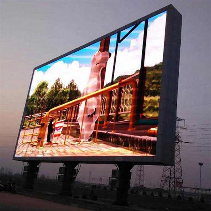 224CM Double-sided Led Screen Full Color Outdoor Electronic Advertising Display