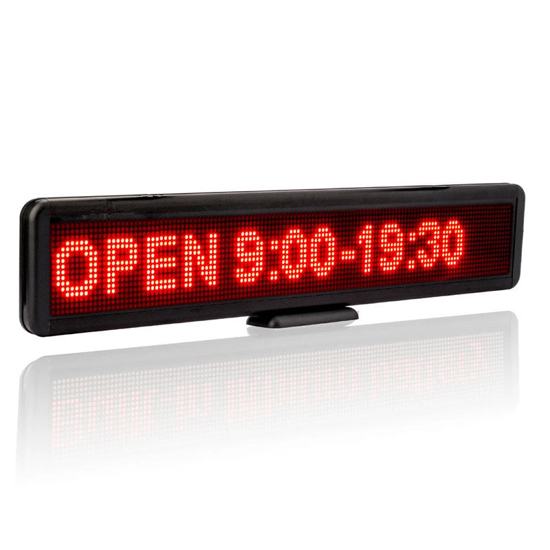Store LED Sign Rolling Advertising Message Display Board Multifunctional USB Programmable Charging Built-in Lithium Battery