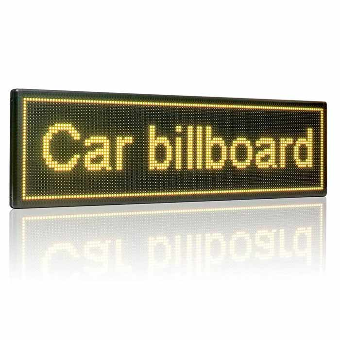 Leadleds P4.75 Wifi Led Sign Programmable by Phone Tablet for Advertising Notice, 3 Colors - Leadleds
