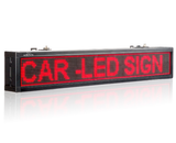 Leadleds Led Car Sign Board RS232 by Keypad Remote Control Message Display DC24V DC12V 100-240V - Leadleds