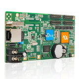 HD-D15 led Module Control Card 4 * HUB75 asynchronous data interface lintel RGB full color led display control card