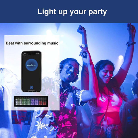 Leadleds Bluetooth LED Name Badge Rechargeable Name Tag