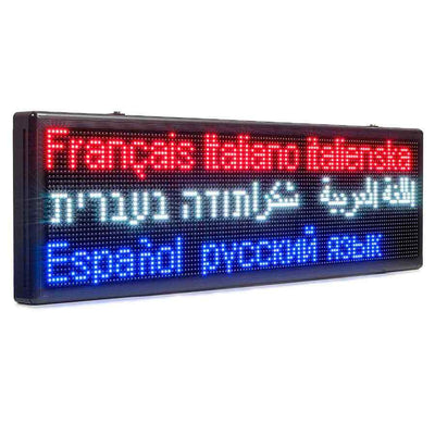 Custom Outdoor Signs 294CM Waterproof Super Bright Multicolor Message Board for Restaurant Signs – Leadleds Sign Design - Leadleds