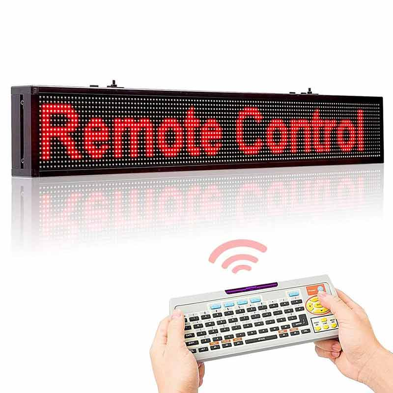 2.5M Remote Led Display 3 Colors Scrolling Message Board from Leadleds Led Sign Manufacturer - Leadleds