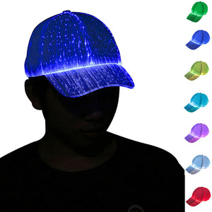 Leadleds Fashion LED Glow Hat LED Luminous Hat Flashing Glow for Rave Party