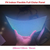 P4 flexible soft full color led panel use for column led screen dot matrix rgb module smd video display - Leadleds