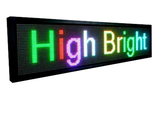 Leadleds P10 Full Color Led Display Waterproof Business Sign Outdoor Program Message by LAN