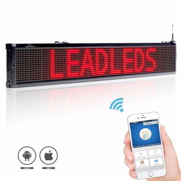 "40"" Safety Signs for Business Vehicles  Release Information Advertising, 3 Colors - Leadleds"