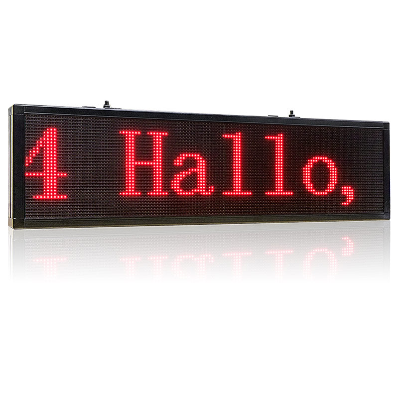 store led message board