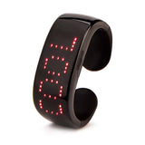 Leadleds Bluetooth Program LED Bracelets Rechargeable Light Up Bracelet Scrolling Message
