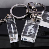 UNTCENT Custom Souvenir Crystal Photo Night Light Keychain Crafts Art Gift