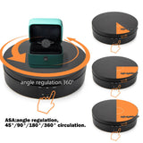 UNTCENT Motorized Turntable Electric Rotating Display Stand for Jewelry Hobby Collectible Products
