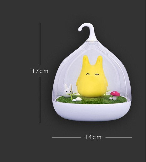 New Night Lamp Totoro Spiderwick Portable Touch Sensor USB LED Light For Baby Bedroom Sleep Lighting Art Decor luminaria de mesa - Leadleds
