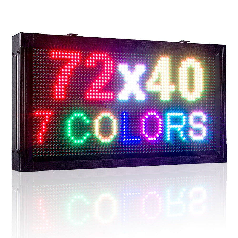 Leadleds Fullcolor Led Display Outdoor Waterproof LED Sign Board Programmable Super Bright P10 - Leadleds