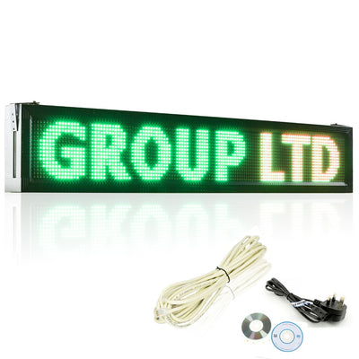 Leadleds Outdoor Business Signs P10 RGB Full Color Waterproof Sending Messages by LAN or U disk - Leadleds