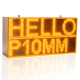 32*64cm Strong Yellow Programmable Led Sign with Scrolling Message Display For P10 FULLY Outdoor Use led display - Leadleds