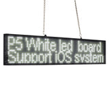 DC12V 66cm P5 White SMD Car truck Taxi Rear window Scrolling LED Display Board by  wireless Fast Programmable Support Car Charger - Leadleds