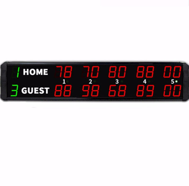 71cm 22Digit Sports Competition ScoreBoard for Gym Boxing Table Tennis Basketball Score Board - Leadleds