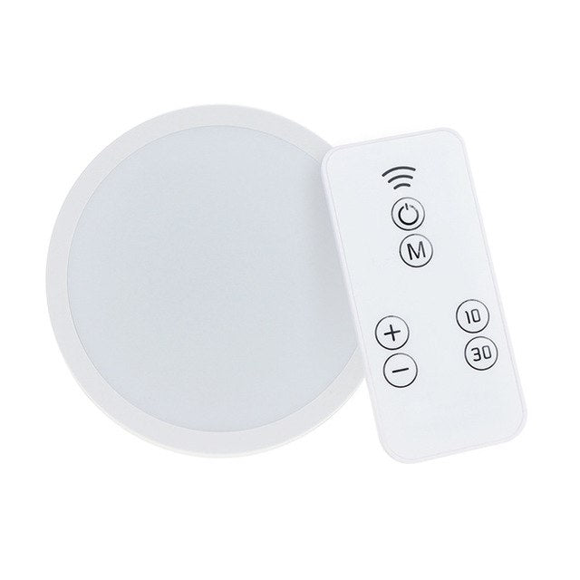 8LED Motion Sensor Wall Lamp Led night light Remote Control lamp closet stairs basement hallway cabinet indoor decor lighting - Leadleds
