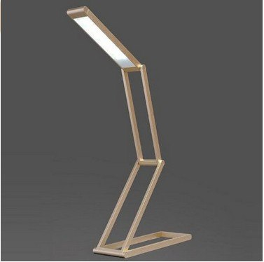 USB Rechargeable Folding LED Desk Lamp Brightness Adjustable Table Lamp Reading Book Light For Study Office Dormitory lighting - Leadleds