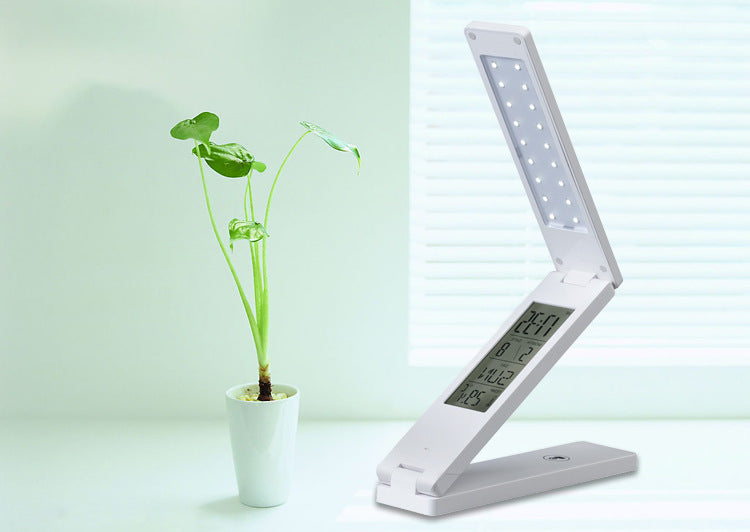 Office Bedside Bedroom Decor Fashion LED Lamps Foldable Desk Lamp Reading Book Studying Working Night Light for Indoor Lighting - Leadleds