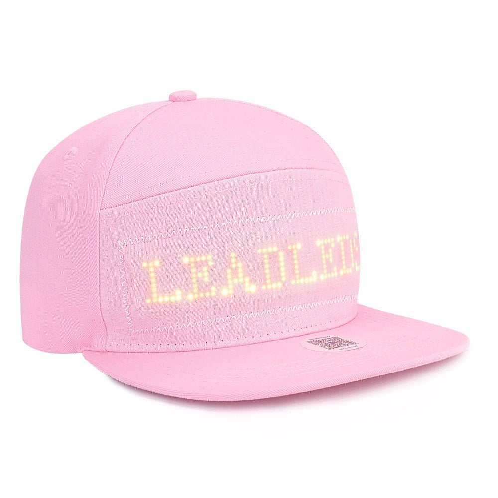 Fashion Led Hat Lights Party Performance Decor Outdoor Running Fishing Phone Controlled - Leadleds