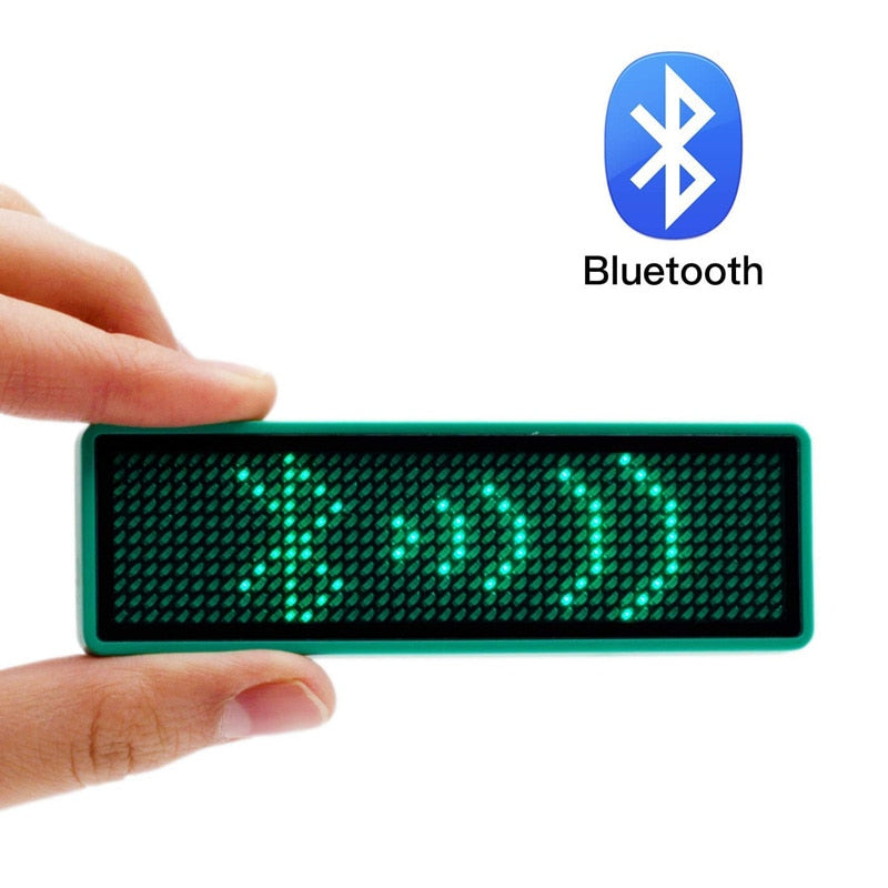 Leadleds Bluetooth Led Badge Program by iPhone or Android Phone - Leadleds
