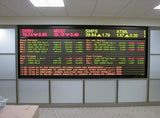Leadleds Programmable Led Ticker Tape Display Board Digital Signage with SDK Docking Stock Market Finacial News