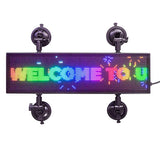 Leadleds Full Color Sign For Car Wireless Smart Led Car Sign DC9-36V
