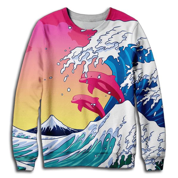 Aesthetic Waves Sweatshirt