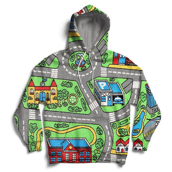 Toy Car Carpet Hoodie