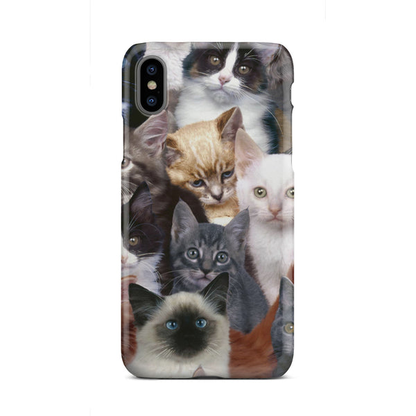 Cat Collage Graphic Case